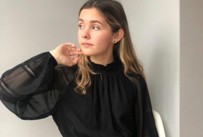 lille sorte kjole karokul